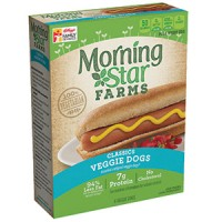 MorningStar Farms Veggie Dogs - 6 CT / 8.4 OZ