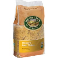 Nature's Path Organic Corn Flakes, Honey Sweetened, Bag 26.4 OZ