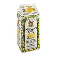 Newman's Own All Natural Virgin Lemonade 59 FL OZ