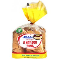 Nickles Hot Dog Buns - 8 CT / 12 OZ