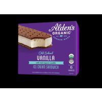 Alden's Organic Old School Vanilla Ice Cream Sandwich