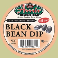 Amir Foods Black Bean Dip 8 OZ