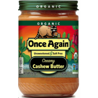 Once Again Organic Cashew Butter 16oz