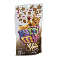 Friskies Party Mix Cat Treats - Wild West Crunch 2.1 OZ