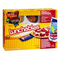 Oscar Mayer Lunchables - Pizza With Pepperoni  - Pork, Chicken, Beef - 4.7 OZ