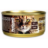PetGuard Organic Cat Food - Beef