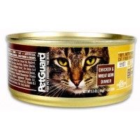 PetGuard Organic Cat Food - Chicken & Wheat Germ 5.5 OZ
