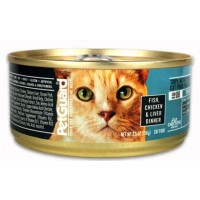 PetGuard Organic Cat Food - Fish, Chicken, & Liver 5.5 OZ