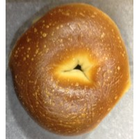 Zagara's Own Fresh Plain Bagel 1 CT