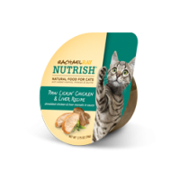 Rachel Ray Nutrish Natural Food For Cats - Paw Lickin' Chicken & Liver 2.8 OZ