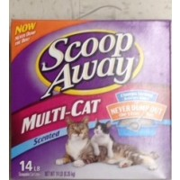 Scoop Away Multi Cat Scented Cat Litter 14 LB