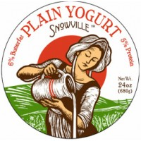 Snowville 6% Plain Yogurt - 24.0 OZ
