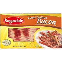 Sugardale Bacon Lower Sodium 16 OZ