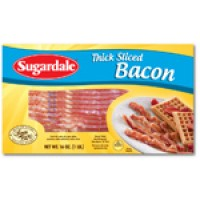 Sugardale Bacon Thick Sliced 16 OZ