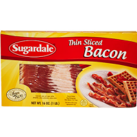 Sugardale Bacon Thin Sliced 16 OZ