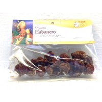 Terra Dolce Habanero Dried Chile Peppers 2 OZ