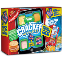 Armour LunchMakers Cracker Crunchers - Turkey
