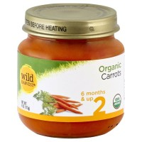 Wild Harvest Organic Baby Food - Stage 2 - Carrots 4oz
