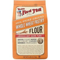 Bob's Red Mill Whole Wheat Pastry Flour - 100% Stone Ground - 5 Lbs