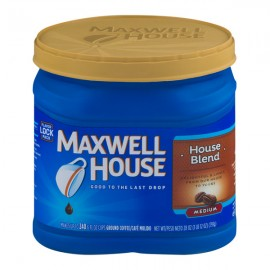 Maxwell House Ground Coffee House Blend Medium ...
