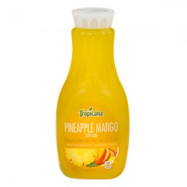Tropicana Pineapple Mango With Lime Drink - 52.0 ...