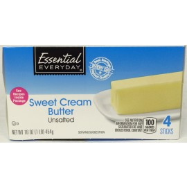 Essential Everyday Sweet Cream Butter UNSALTED - 1...